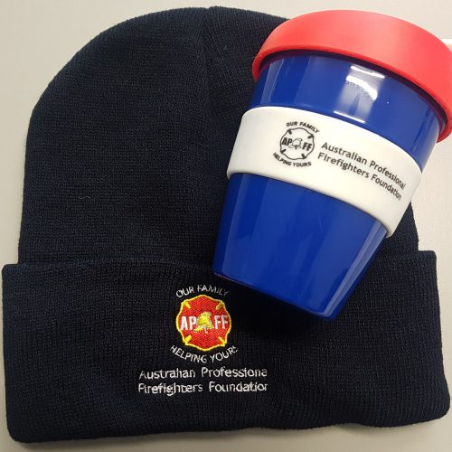 Beanie and Cup
